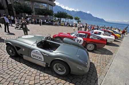 Some one hundred teams, at the wheel of GT and sports cars dating from the late 1930s to the late 1970s, registered for the Gstaad Classic Audemars Piguet 2011.
