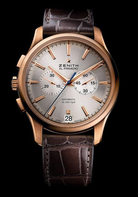 Zenith Captain Chronograph in pink gold for Only Watch 2011
