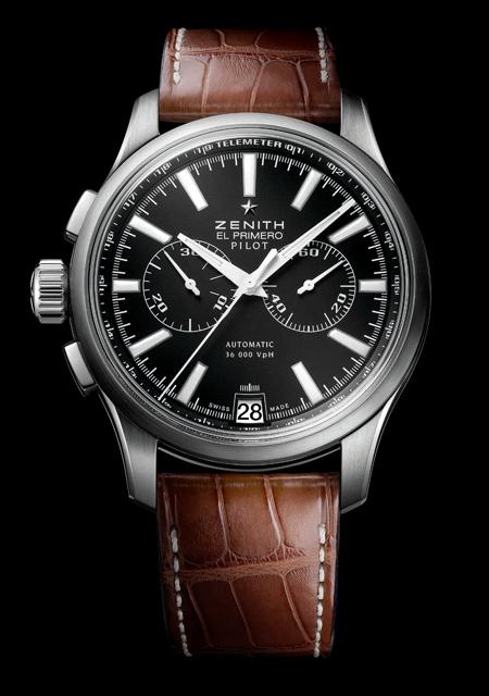 Zenith Pilot Chronograh in steel for Only Watch 2011