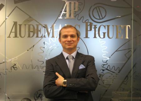 Antonio Seward, new General Manager of Audemars Piguet France