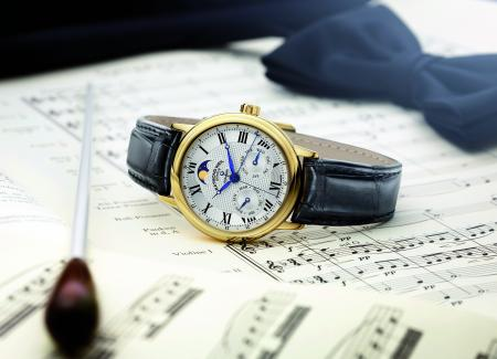 The maestro Edition 35ème Anniversaire : a beautiful piece of classical spirit and with complications.