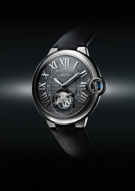 Cartier ID One concept watch Cartier manufacture mechanical movement with automatic winding, without adjusting. Niobium-titanium 46 mm case, fabric strap, adjustable folding clasp in 18-carat white gold. This concept watch is not made to be commercialis