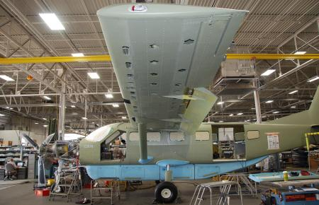 Cessna Aviation : Production area