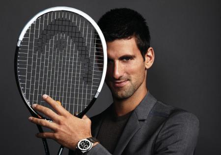 Novak Djokovic : Newly appointed Audemars Piguet Ambassador.