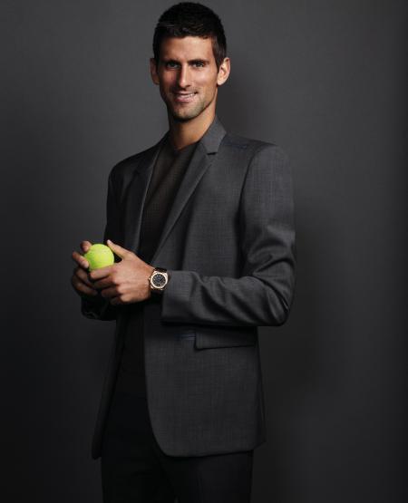A tennis champion in the team of ambassadors Audemars Piguet.