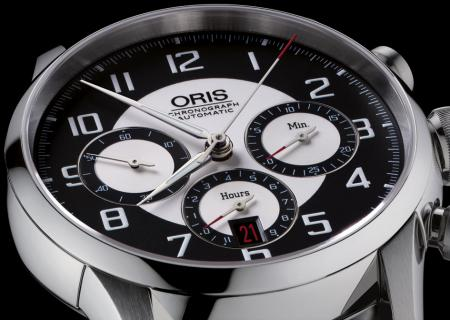 The Oris RAID 2011 Chronograph Edition is produced as a limited series of 500 pieces.