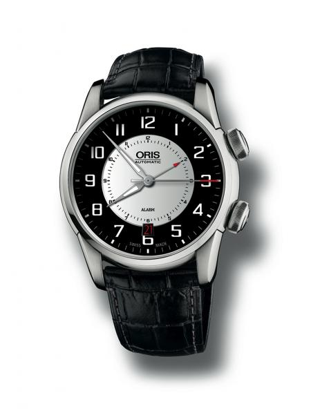 The Oris RAID 2011 Alarm Edition is produced as a limited series of 50 pieces. The alarm function enables the rallye team to time the target arrival time.