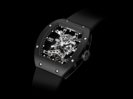 The RM 027 Tourbillon Rafael Nadal was sold € 510 000 at the charity auction Only Watch 2011.