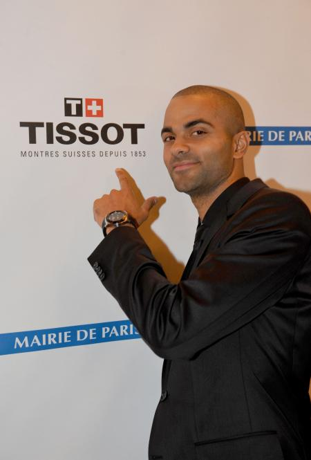From the Tissot tactile collection, the Tissot Racing-Touch Tony Parker Limited Edition 2011 presents 11 functions.