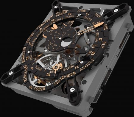 The Hublot Antikythera Calibre 2033-CH01 : a marvel of technicality inspired by a mechanism dating from antiquity.