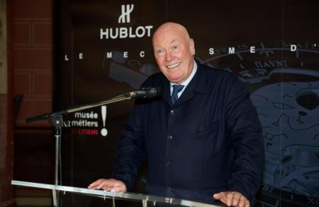Jean-Claude Biver, Hublot CEO, proud to present on October 10 at the Museum of Arts et Métiers in Paris the Hublot Antikythera Calibre 2033-CH01.