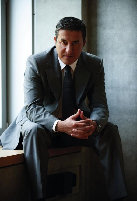 Antonio Calce, CEO of Corum, is a new shareholder of Montres Corum Sarl ©Anoush Abrar
