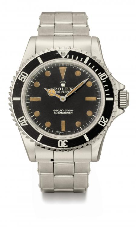 The Rolex Submariner worn by Roger Moore in the film 'Live and Let Die' in which he played James Bond. ©Christie's Images LTD. 2011