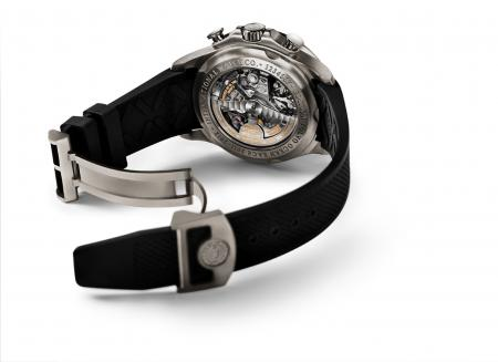 ThePortuguese Yacht Club Chronograph Edition 'Volvo Ocean Race 2011–2012', caseback.
