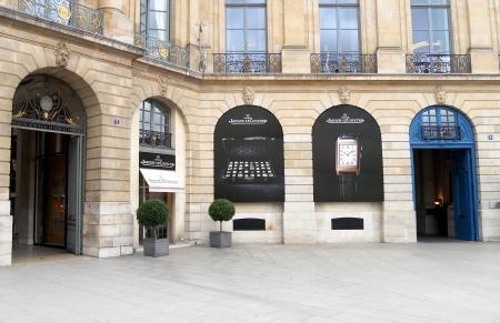 Jaeger-LeCoultre's Place Vendôme boutique will unveil in 2012 a new face…
