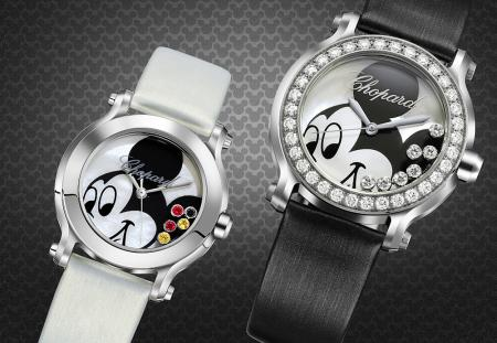 Happy Mickey Collection - Watches of 30mm and 36mm diameter in steel - Quartz movement.