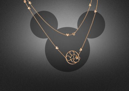 Happy Mickey Collection - Long necklace.