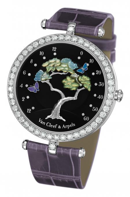 The Van Cleef & Arpels Butterfly Symphony watch has been awarded the Ladies watch prize of the Grand Prix du Public 2011 of Geneva.