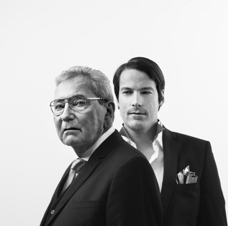 Mr. Roger Dubuis et Mr. Gregory Bruttin - Nicolas Guerin, Paris © ROGER DUBUIS 2011