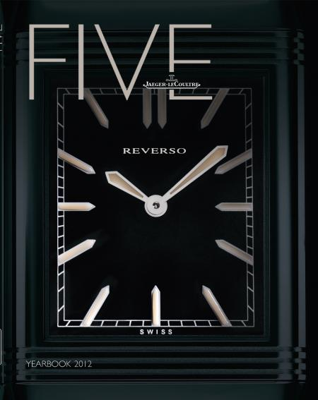 The Jaeger-LeCoultre YEARBOOK FIVE's cover.