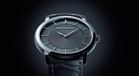 In white gold, the Jules Audemars Extra-thin 'Bolshoi' is produced in limited edition at 49 pieces.