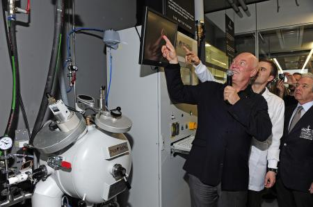 Jean-Claude Biver, CEO of Hublot, presents the art of fusion.
