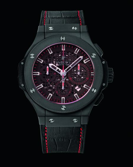 The Big Bang 'Jet Li' : a limited edition of 200 pieces in micro-blasted black ceramic.