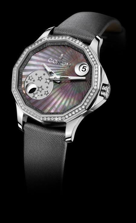 Admiral's Cup Legend 38 Mistery Moon - Model with black mother-of-pearl dial
