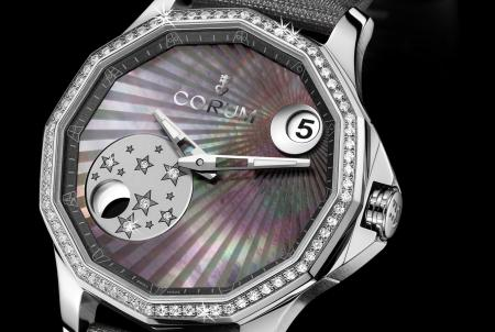 The Corum Admiral's Cup Legend 38 Mistery Moon : a novelty 2012.