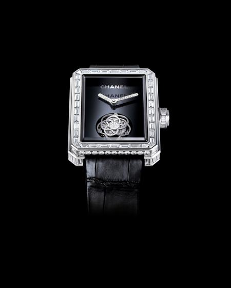 The Chanel Première Flying Tourbillon watch : a novelty 2012.