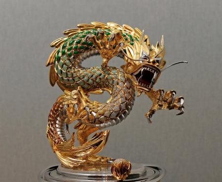 Parmigiani : The Dragon and the Pearl of Wisdom.