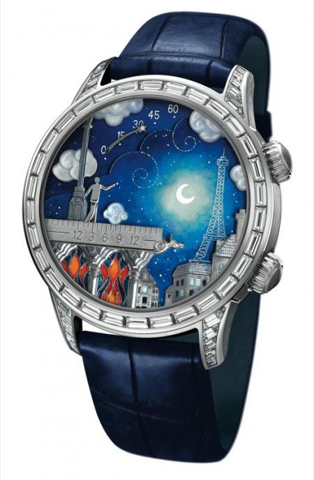 Van Cleef & Arpels - Midnight Poetic Wish timepiece