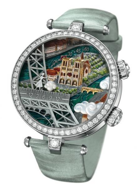 Van Cleef & Arpels - Lady Arpels Poetic Wish timepiece