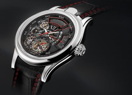 The Montblanc's TimeWriter II Chronographe Bi-Fréquence 1,000 : a limited edition of 36 pieces.