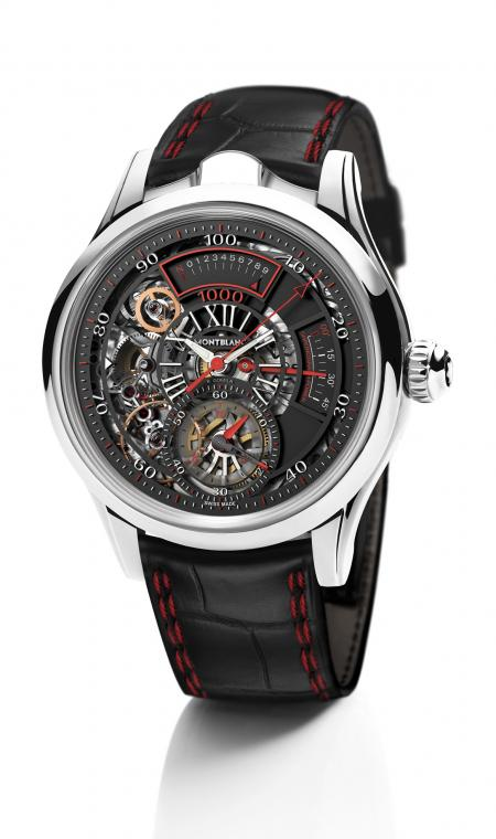 The Montblanc's TimeWriter II Chronographe Bi-Fréquence 1,000.