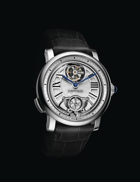 Rotonde de Cartier Minute Repeater Flying Tourbillon watch, calibre 9402 MC, Geneva Seal.