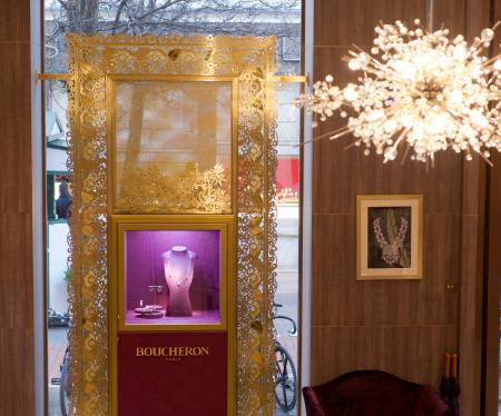 The Boucheron New Bond Street London flagship - Interior