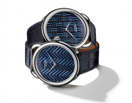 Hermès - Arceau Marqueterie de Paille : Two 'collector'.