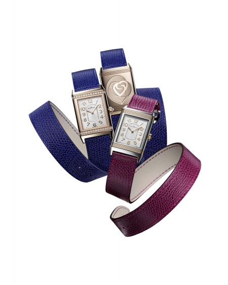 A Grande Reverso Lady Ultra Thin set with diamonds or not, on a strap created by Valextra for the Valentine's Day ?