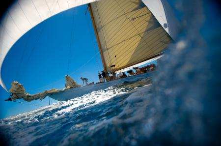 The Eilean will be at Antigua for the first stage of the Panerai Classic Yachts Challenge 2012.