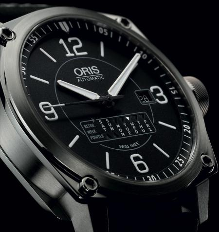 The novelty of the day… : the Oris BC4 Retrograde Day