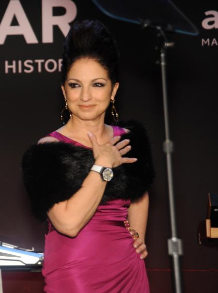 Gloria Estefan - amfAR New York Gala on February 8.