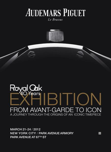 The exhibition Royal Oak 40 Years - From Avant-Garde to Icon poster's.