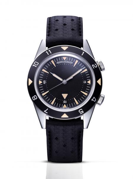 The Jaeger-LeCoultre Memovox Tribute to Deep Sea watch.
