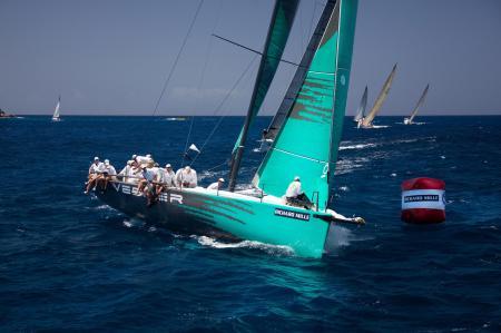Les Voiles de Saint Barth : a breathtaking regatta. © Benoît - Lat17-studio.com