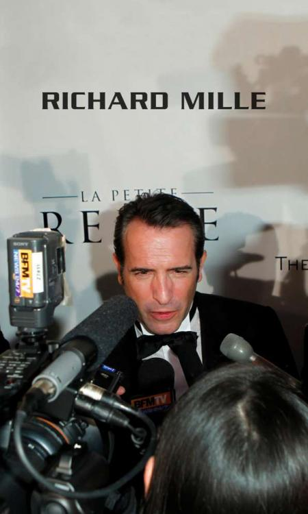 Jean Dujardin, best actor oscar for The Artist, during the '2012 Academy Awards party' sponsorized by Richard Mille. © Donato Sardella