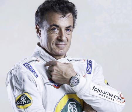 Jean Alesi with the F.P. Journe Centigraphe Sport will be at Indianapolis 500.