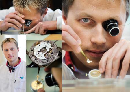 Frederic Kuzniak - Young watchmaker