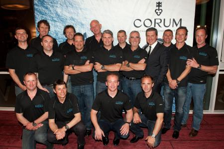 Corum rewards the new winners of the Jules Verne Trophy