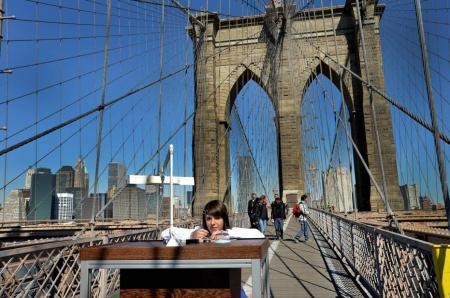 The Brooklyn Bridge for worshop…
